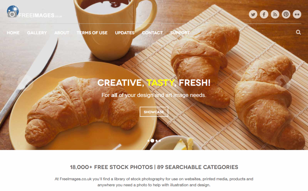 freeimages.co.uk screenshot